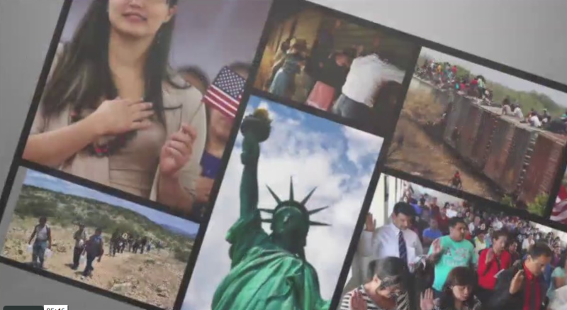 The Hope LUCHA's support provides encouragement for young immigrants, as seen in this new video