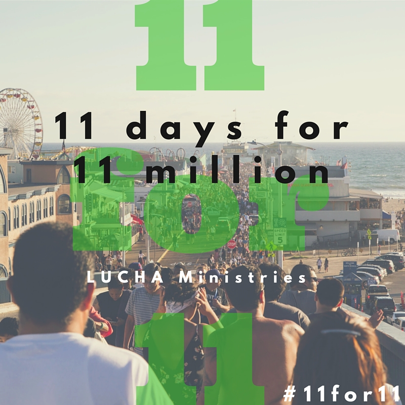 #11for11million 11 Days for the 11 Million:  Recapping LUCHA's first Instagrampaign