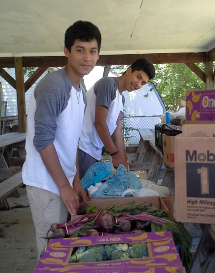 Nourishment for the Fredericksburg Community LUCHA's Hunger Relief Ministry